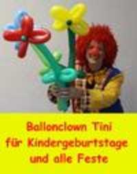 Logo Ballonclown Tini